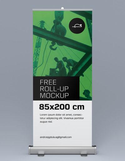 Mockup - Rollup